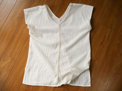 生成りのシャツ 品番 A